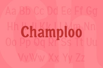 Champloo Font Family