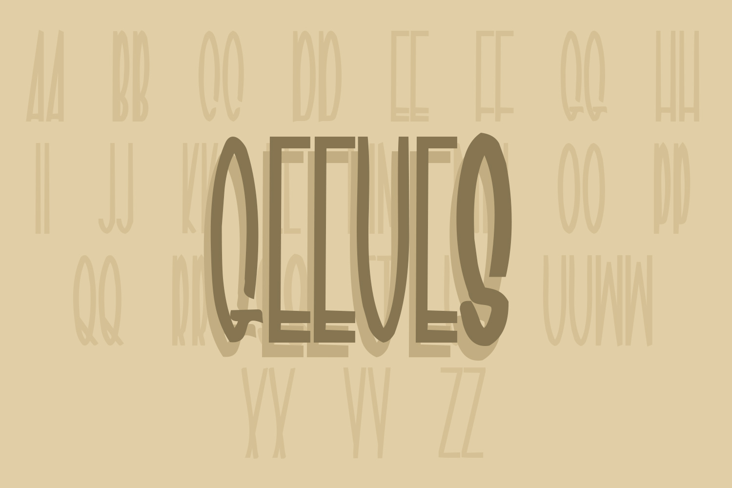 Geeves Font free download