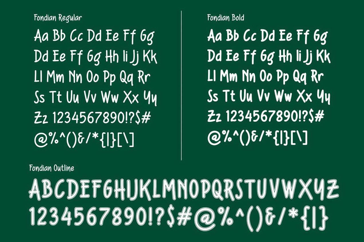 Fondian Font