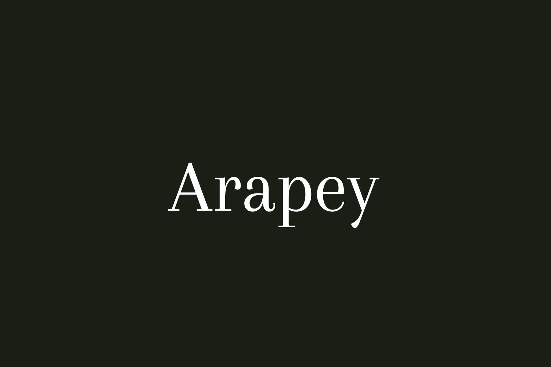 Arapey