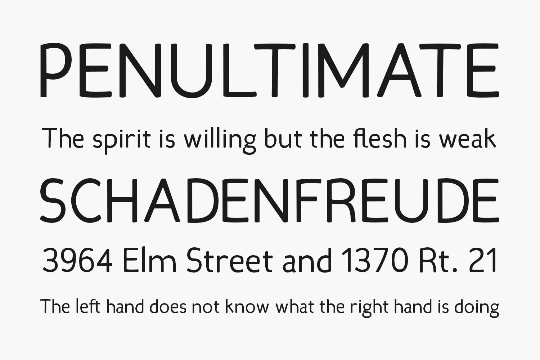 Candela Free Font Family