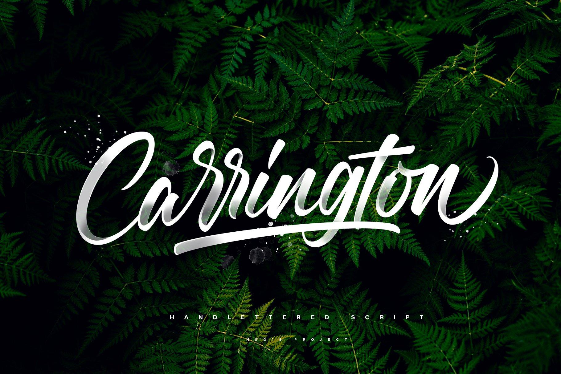 Carrington Free Font