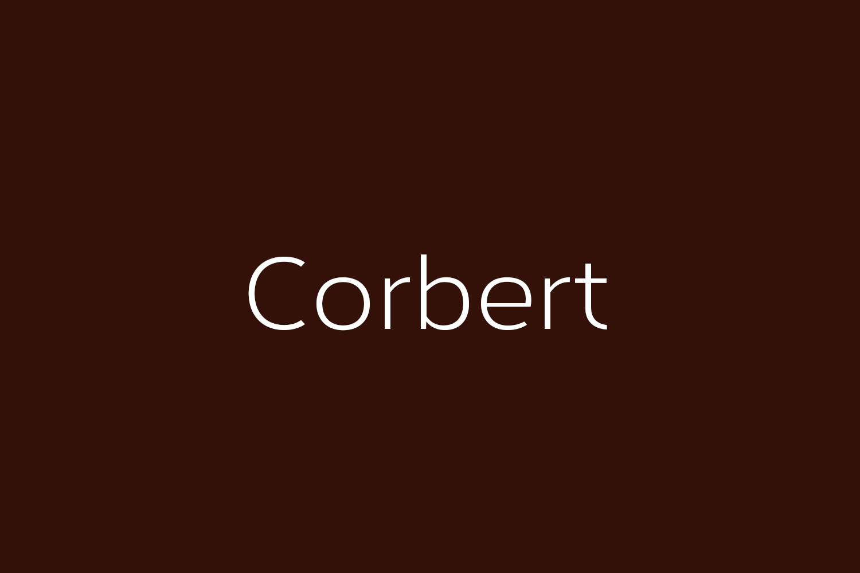 Corbert