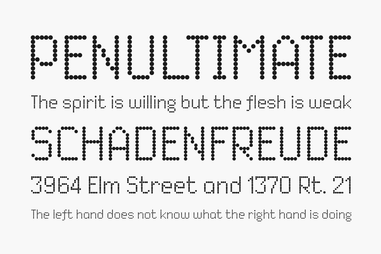 Dited Free Font