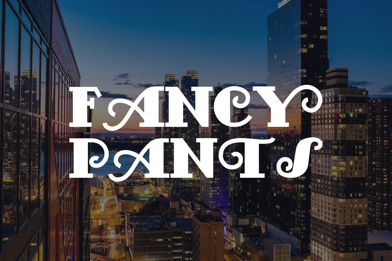 FancyPants Free Font