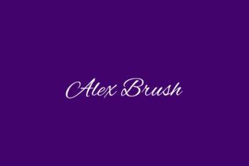 Alex Brush