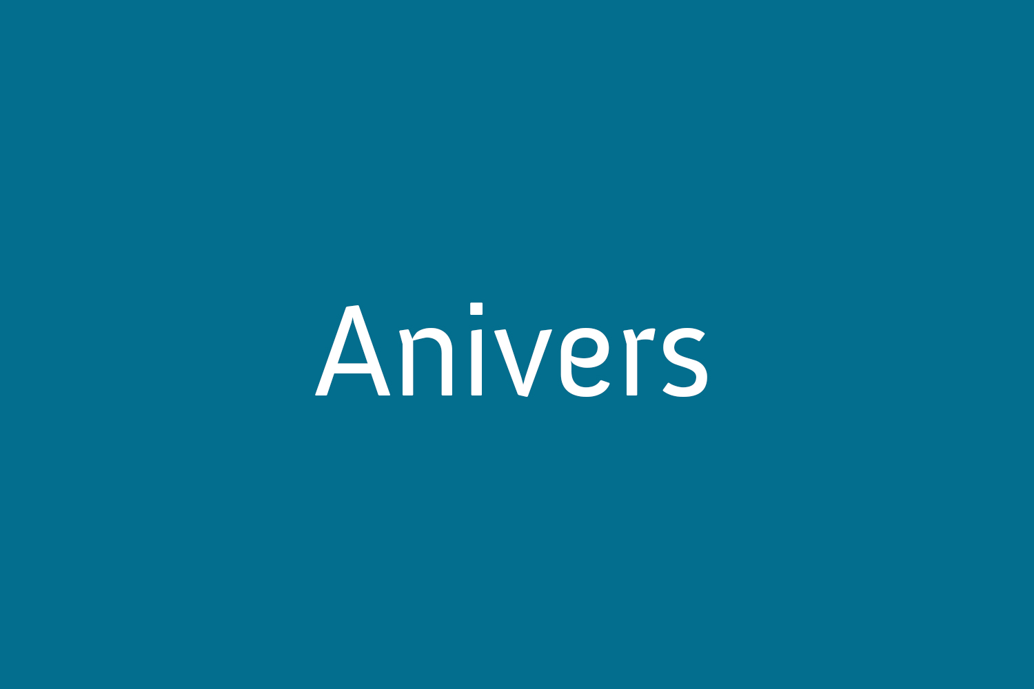Anivers