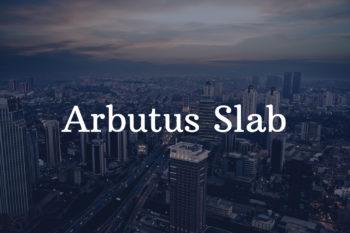 Arbutus Slab