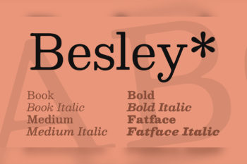 Besley Free Font Family