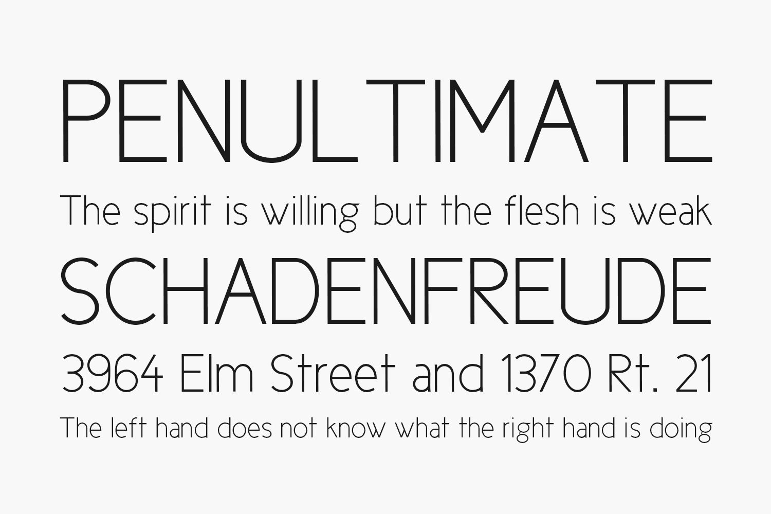 Cicle Free Font Family