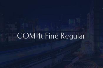 COM4t Fine Regular