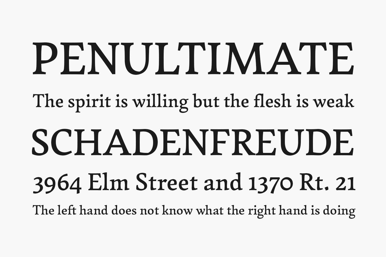 Garibaldi Free Font