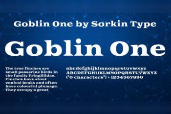 Goblin Free Font