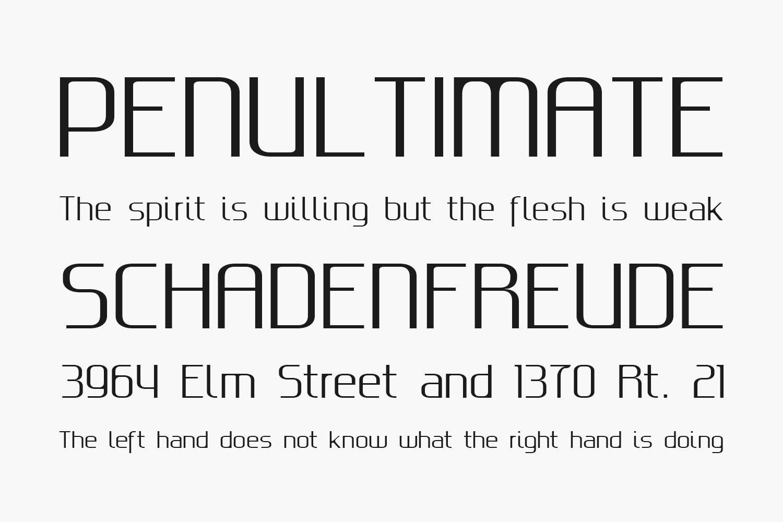 Gputeks Free Font Family