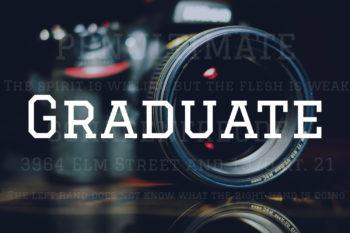 Graduate Free Font
