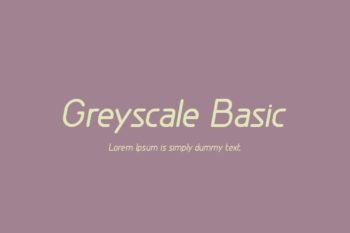 Greyscale Basic