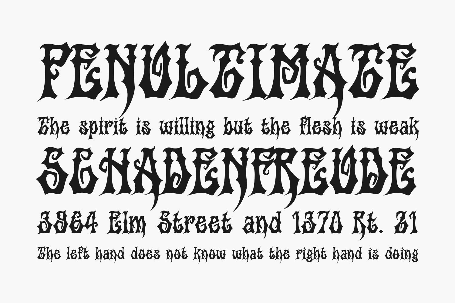 Griffin Free Font
