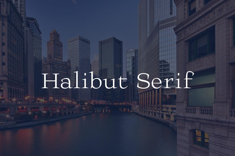 Halibut Serif