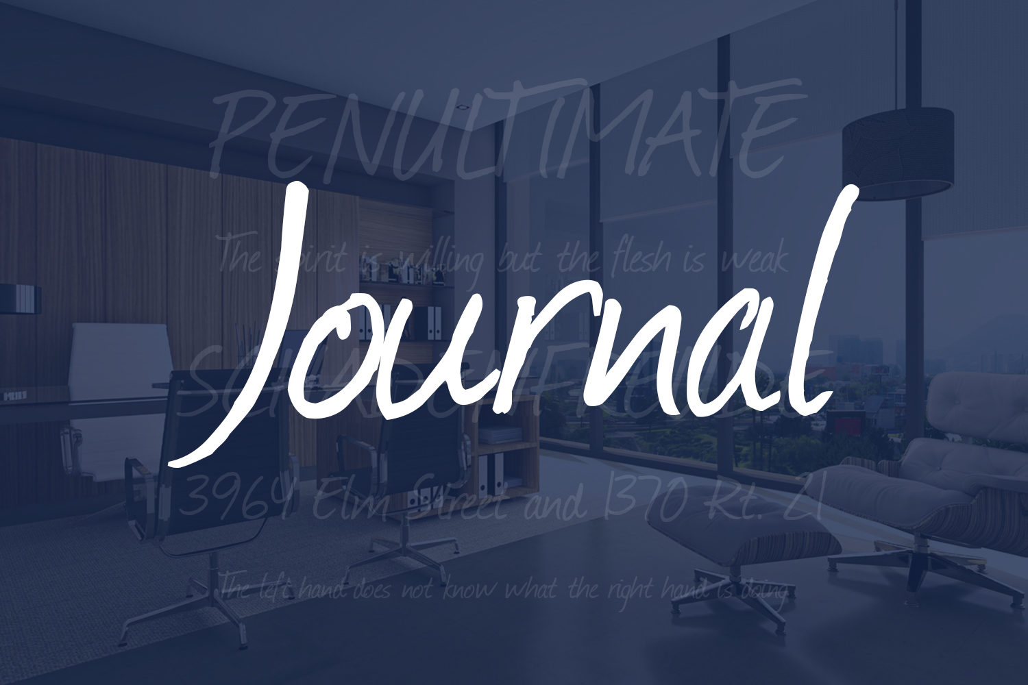 Journal Free Font