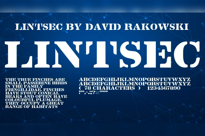 Lintsec Free Font