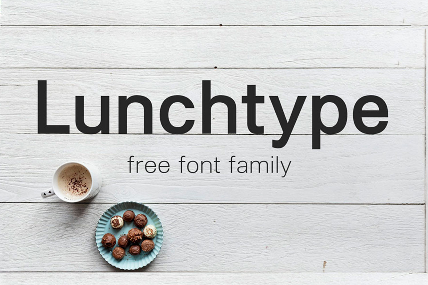 Lunchtype Free Font Family
