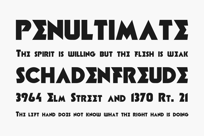 Minotaur Free Font