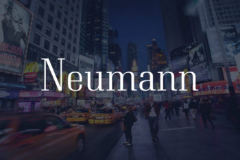 Neumann Free Font