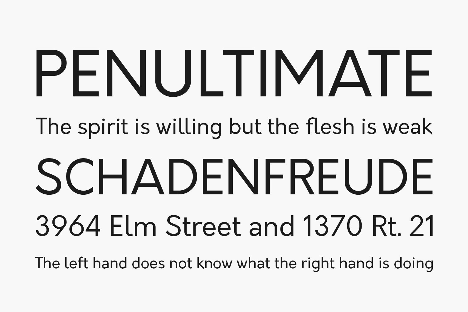 Orkney Free Font Family