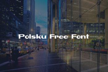 Polsku Free Font