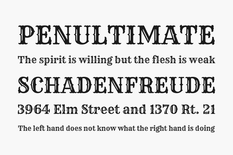Rye Free Font