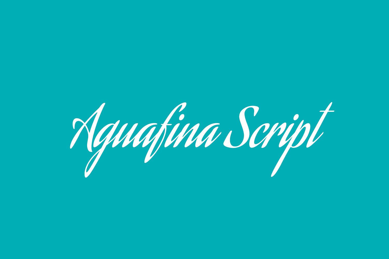 Aguafina Script