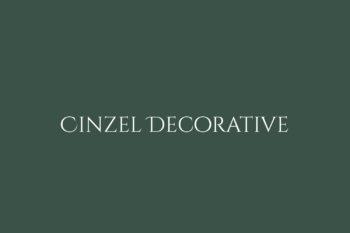 Cinzel Decorative