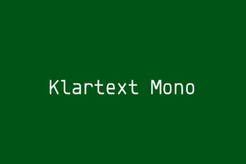 Klartext Mono