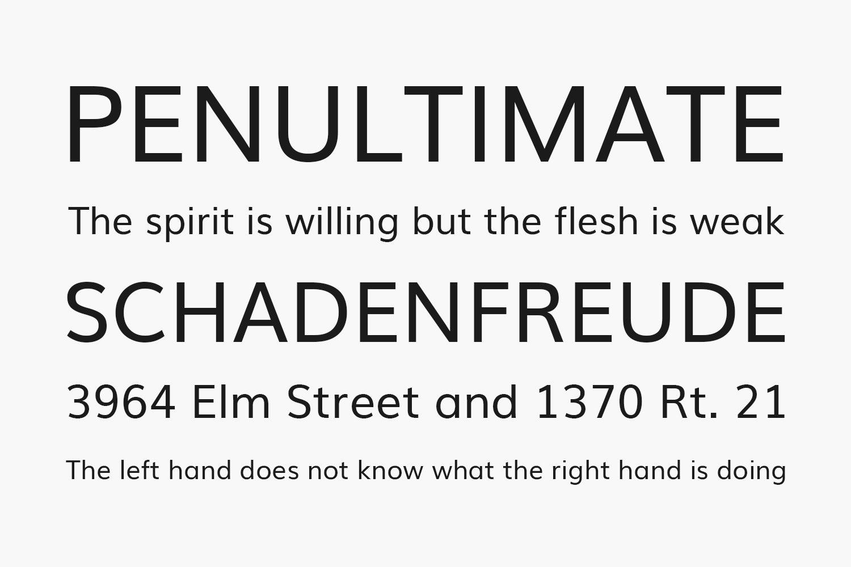 Muli Free Font Family