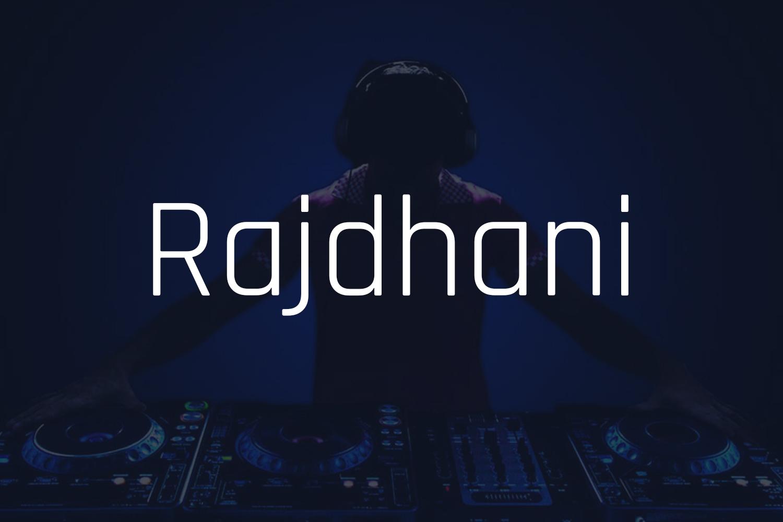 Rajdhani Free Font Family