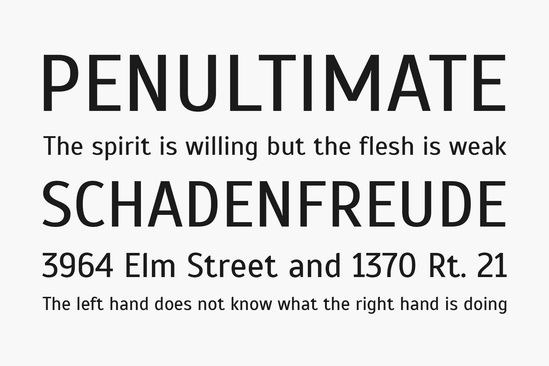 Scada Free Font Family