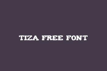 Tiza Free Font