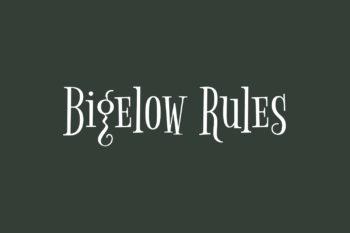 Bigelow Rules