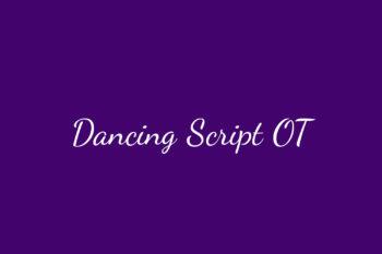 Dancing Script OT