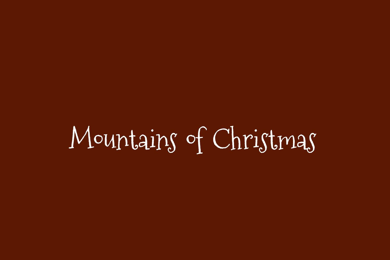 Mountains of Christmas