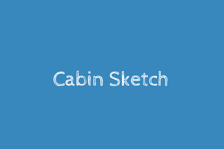 Cabin Sketch