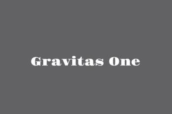 Gravitas One