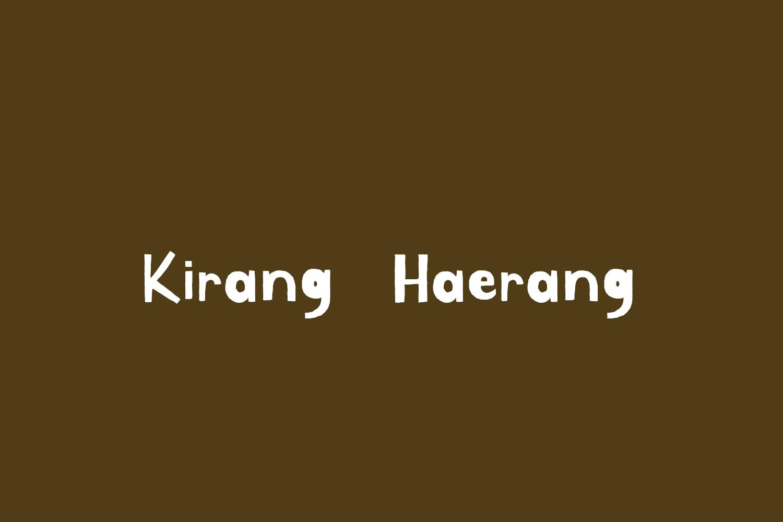 Kirang Haerang