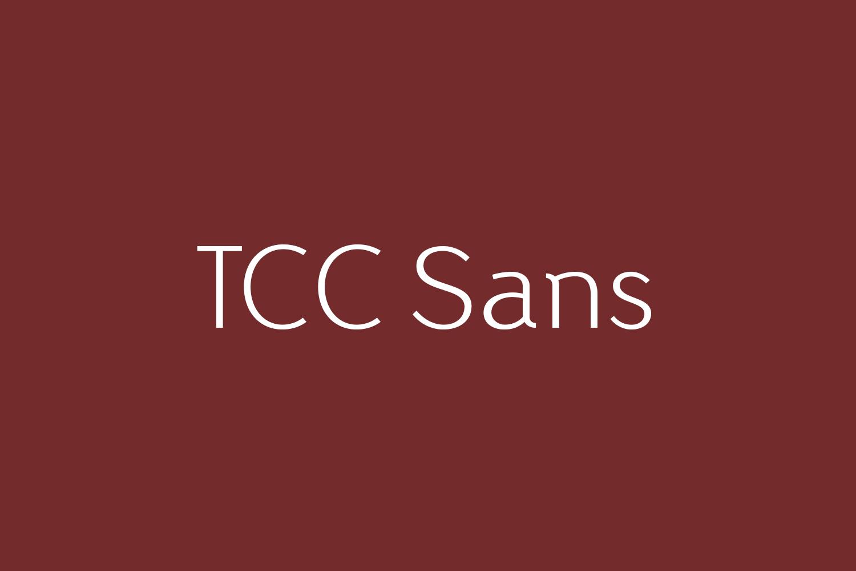 TCC Sans