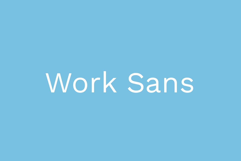 Work Sans