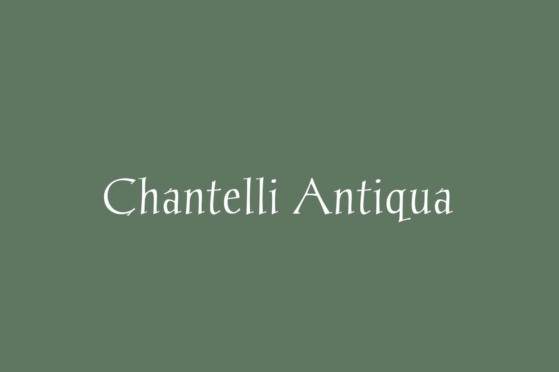 Chantelli Antiqua