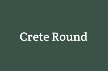 Crete Round