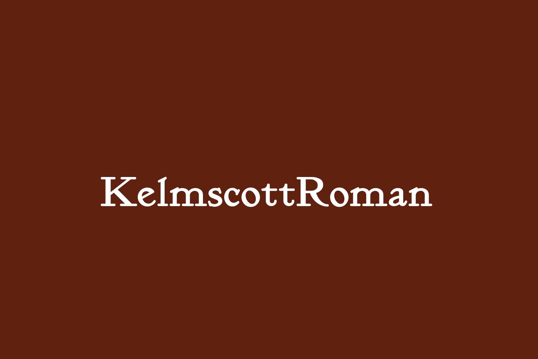 KelmscottRoman