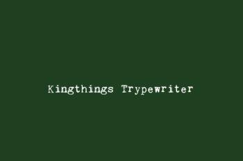 Kingthings Trypewriter