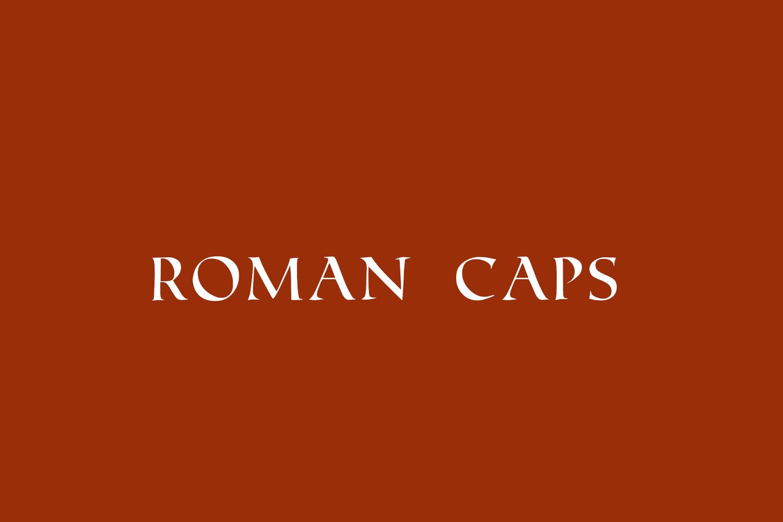 Roman Caps
